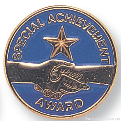 3/4″ Special Achievement Lapel Pin 1