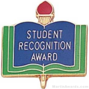 "3/4"" Student Recognition Award Pin"