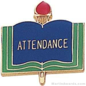 3/4″ Attendance School Award Pins 1