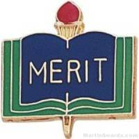 "3/4"" Merit School Award Pins"
