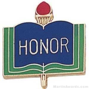 "3/4"" Honor School Award Pins"