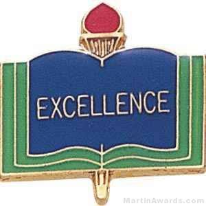 "3/4"" Excellence School Award Pins"