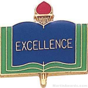 3/4″ Excellence School Award Pins 1