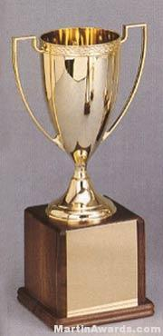Trophy Cups - Gold Plated